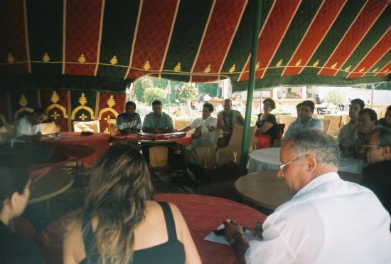 photo forum euro-med à Saadia juin 2005