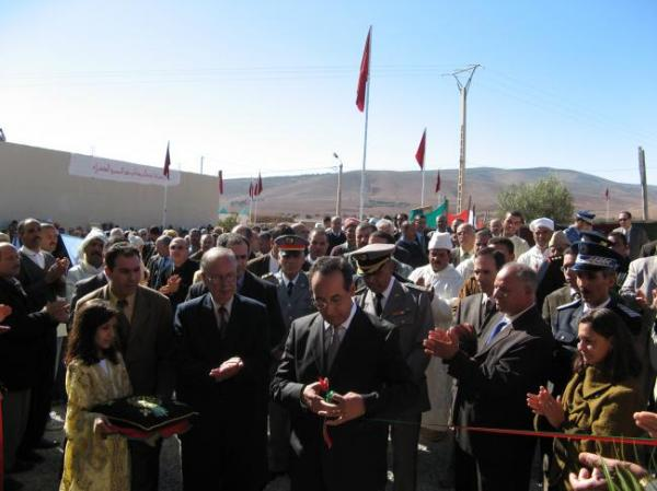 Inauguration centre Sidi Hazem