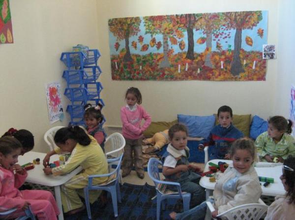 le préscolaire à Sidi hazem