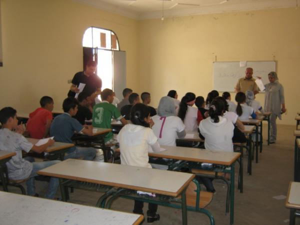 """Enquête sur le thème : """" Violences scolaires"""" - Oujda-mai 2012"""