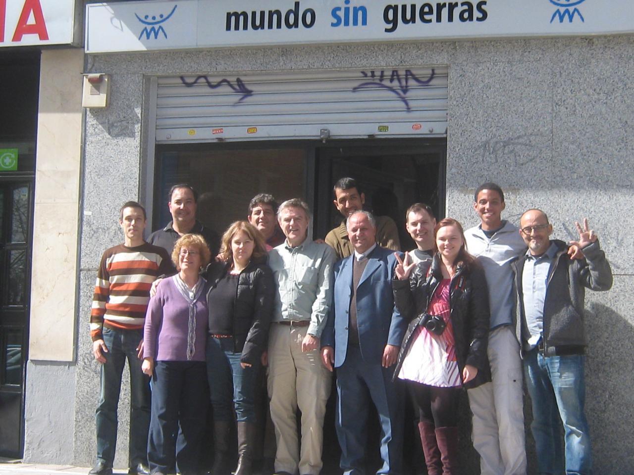 coordination mondiale de MSG- Madrid-mars 2011