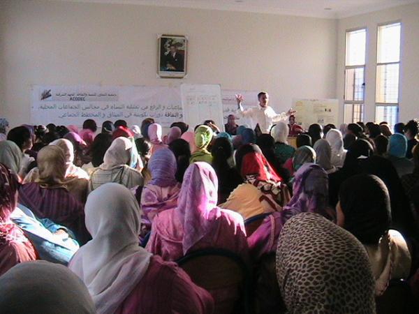 تقوية تمثبلية النساء في المجالس المحلية