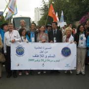 marche mondiale pour la paix et la non violence-16/11/2009