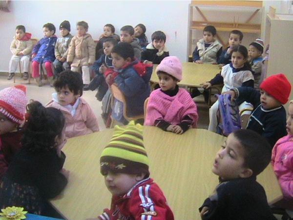 التعليم الأولي بمركز الخدمات الإجتماعية الحي الحسني